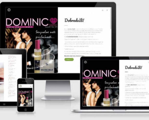 Izrada sajta Dominic