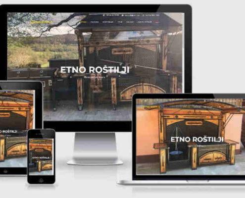 Izrada sajta Etno Roštilji